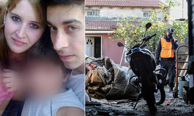 """Pic shows: Leandro Acosta.nnA husband and wife accused of abusing their own children were shot , cut up, burnt and fed to their six pet dogs.nn Accused Lovers Leandro Yamil Acosta, 25, and Karen Klein ,22, who were also step brother and sister, claim their parents Miryam Kowalczuk and Ricardo Klein were abusing their little 11-year-old twin brother and sister.nnThe alleged murders happened in the city of Pilar, in the east Argentine province of Buenos Aires.nnThe victim's brother Roberto Klein admitted: """"My brother was a difficult man, with little time for his children, there has always been resentment between him and his stepson and I believe this was a long time coming.""""nn Acosta¿s defence lawyer Monica Chirivin said:""""He does not feel remorse and in fact describes a state of relief for a burden he has felt from childhood. He told me that he ate a bit of the corpse.For him it was almost a pleasure.""""nn The defendant Acosta has a chronic intestinal condition and had to use a colostomy bag all his life, one of the reasons he claimed he was mistreated  during his childhood by his mother and stepfather.nnThe crime was discovered when a relative of the victim notified the police after he grew suspicious when he was not allowed entry into the family home.nn The police found pieces of a female pelvis and vertebra column in an old paint bucket on the terrace.nn Several rubbish bags which the couple took to a nearby waste ground are also being analysed by the crime squad.nn Karen Klein claims the crime happened when the 11 year old twins were at school. She says Acosta shot his father whilst he was asleep and then shot his stepmother in the head as she walked in the door.nn(ends)n"""