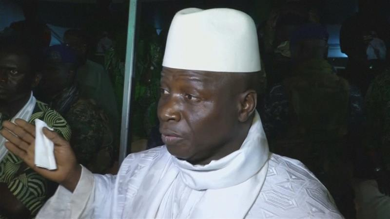 AU to cease recognising Jammeh as Gambia'sPresident