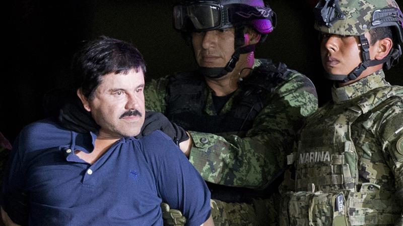 Drug lord Joaquin 'El Chapo' Guzman extradited toUS