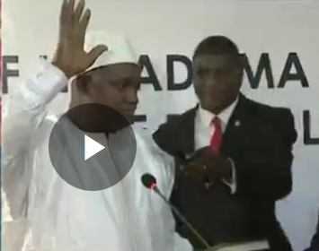 Gambia's Yahya Jammeh forced out ofseat