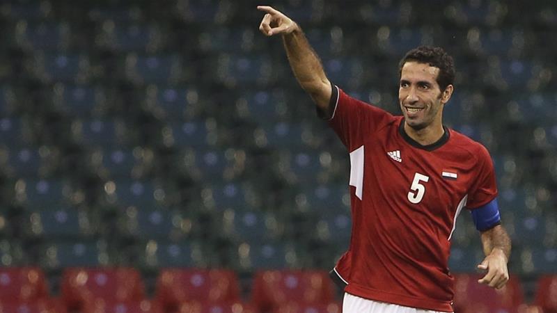 Football star Mohamed Aboutrika of Egypt labelledterrorist
