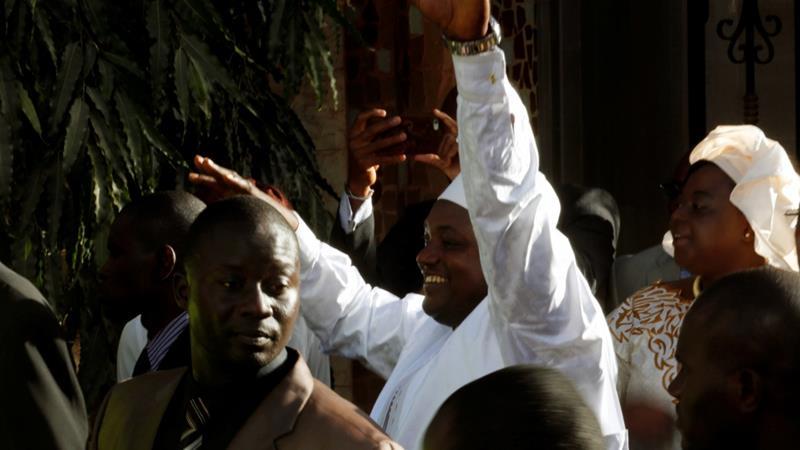 Peace alleviates as Senegal swears in Gambia's new president AdamaBarrow