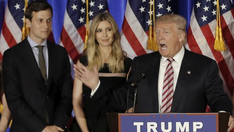 Trumps makes daughter Ivanka new US presidentadviser