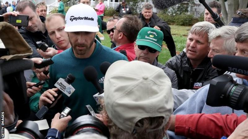 Masters 2017: Dustin Johnson pulls out in Augusta due to back injury