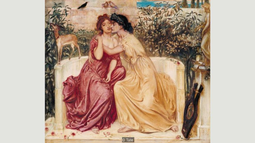 The victorian view of same sex desire