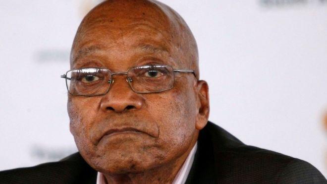 Zuma: I will resign on onecondition