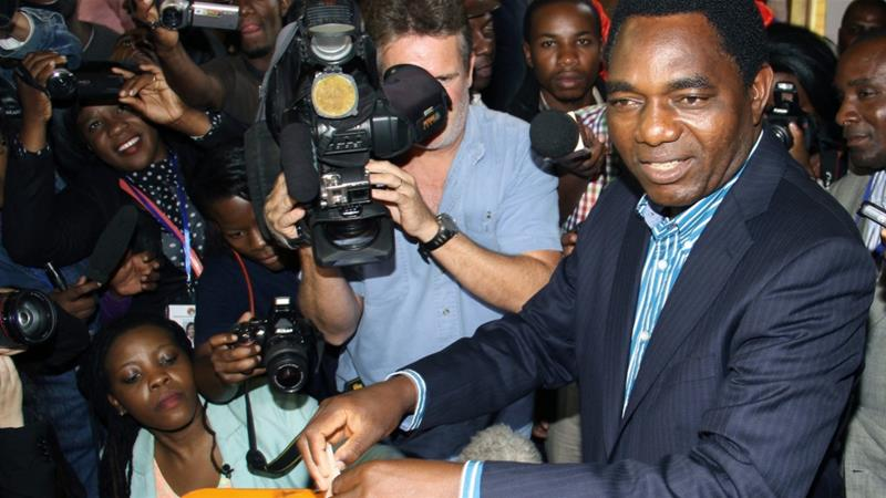 Zambia: Hakainde Hichilema detained for being an oppositionleader
