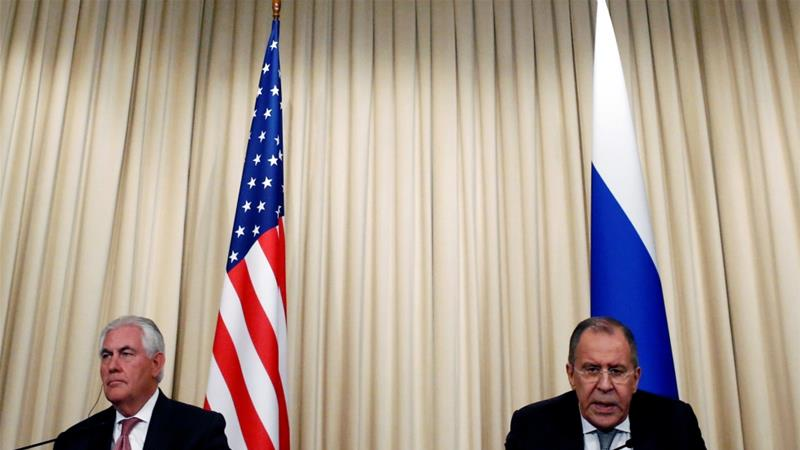 US-Russian ties 'at low point' as Syria tensionsrise