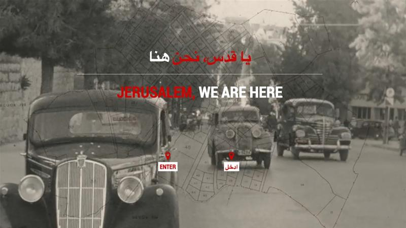 "A message from Palestine ""Jerusalem, We AreHere"""