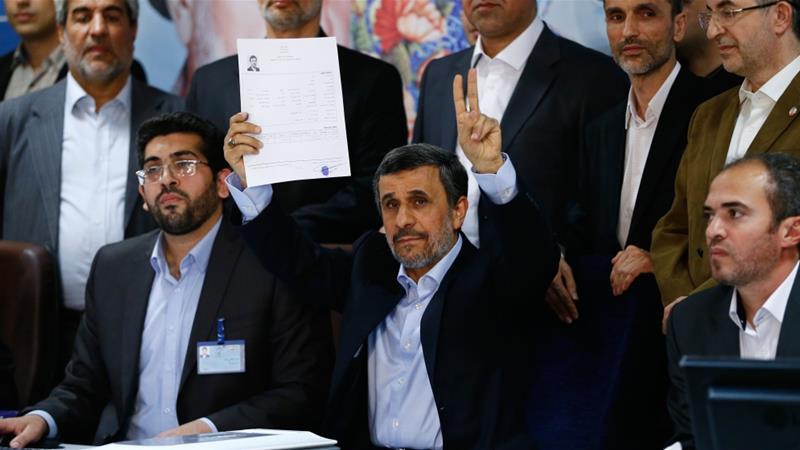 Mahmoud Ahmadinejad 'disqualified' from Iranelections