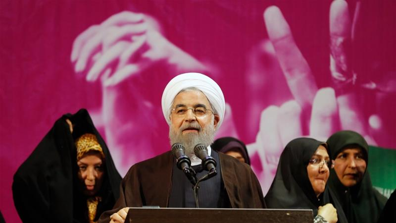Hassan Rouhani emerges as the new president ofIran