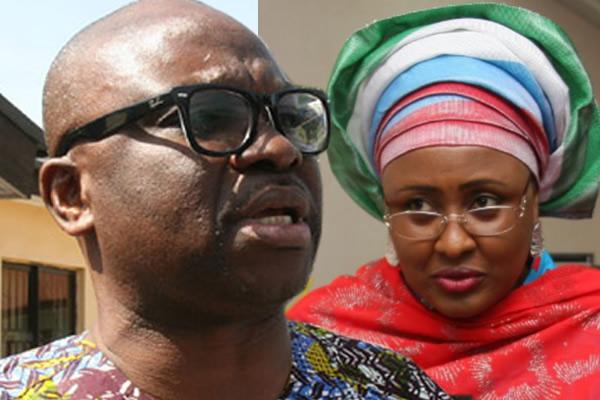 SOS as Gov Fayose and Aisha Buhari exchange of words – Where isBuhari