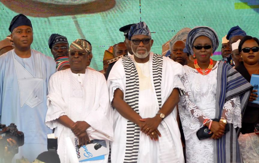 Akeredolu's Wife: Igbos keep your madness and let us unite as family and a nation