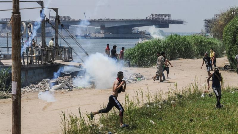 Eviction attempt turns deadly in Egypt's Nile island