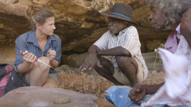 Australia human history 'rewritten by rockfind'