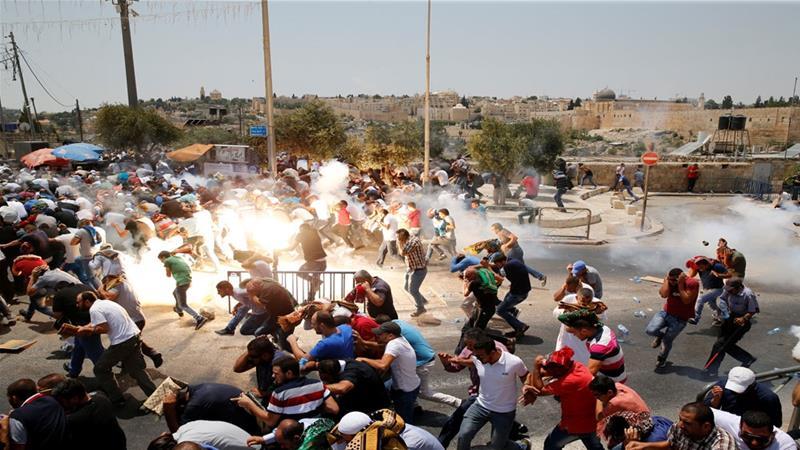 The al-Aqsa metal detectors aren't a securitymeasure