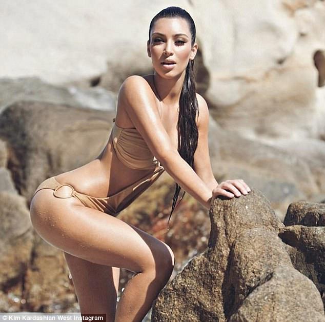 Kim Kardashian shares sexy throwback snap inmonokini