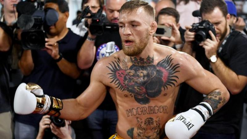 Conor McGregor speaks of how he idolizes Mayweather