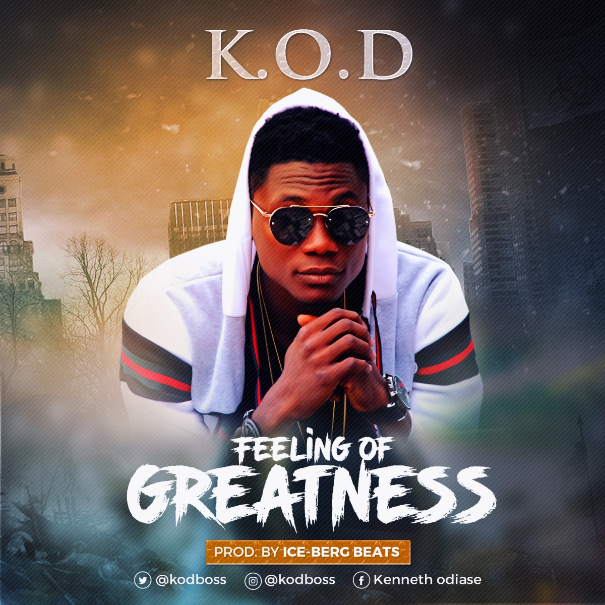 KOD - Feeling Of Greatness ( http://bit.ly/2xBB22A | @Kodboss | #UberTalksMusic )