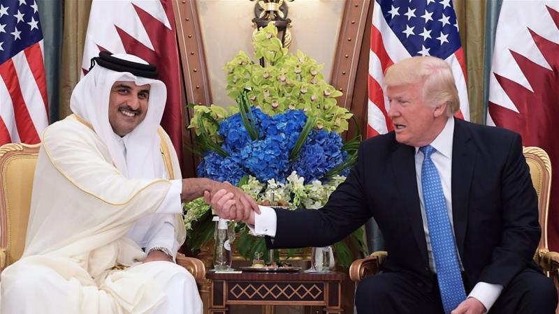 Call for GCC dialogue as Trump speaks to Qatar'semir