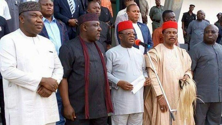 IPOB: South East governors ban and see their activities asillegal