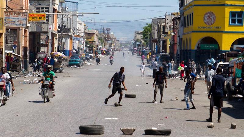Strike over new transport taxes brings Haiti to ahalt