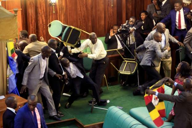 UGANDA: Shameful Parliament's Game OfThrone