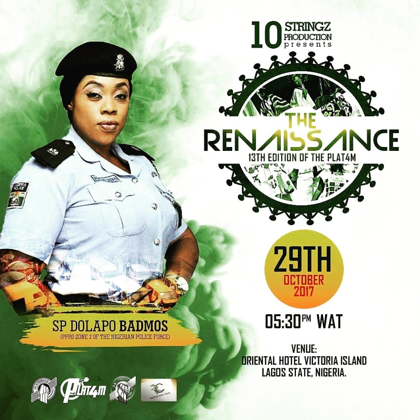 The 13th Edition of THE PLAT4M: Holds In Oriental Hotel This Sunday [ @10stringz]