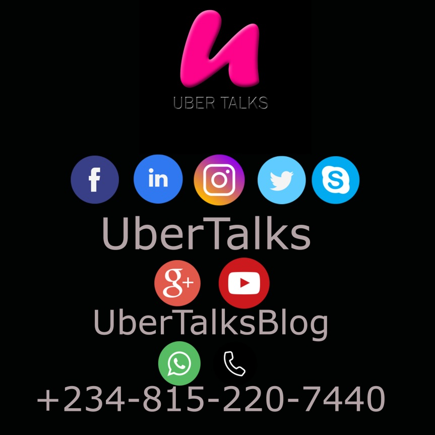 """Gain """"A TICKET TO WATCH A MOVIE THIS WEEK"""": Follow UberTalks On All Her Social MediaPlatforms"""