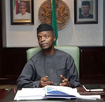 Leaders should turn to God and eschew corruption ―Osinbajo