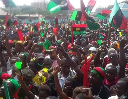 IPOB blames S/East govs, Ohanaeze Ndigbo for army invasion of Kanu's residence