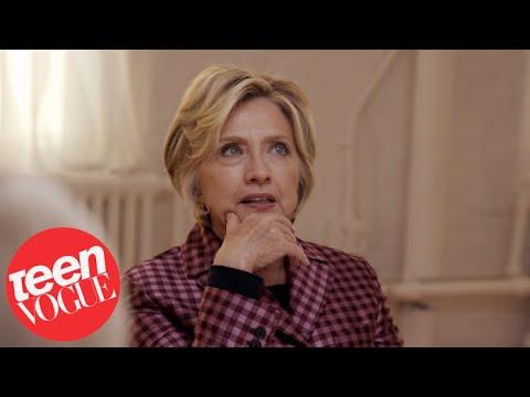 Hillary Clinton talks Feminism, LGBT Rights, Not Running for Office Again on TeenVogue