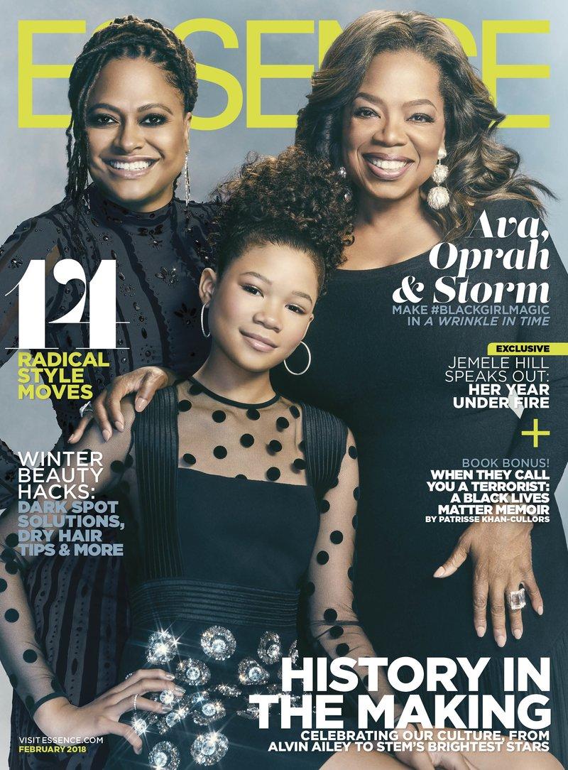 Oprah Winfrey, Ava DuVernay & Storm Reid cover Essence Magazine's February Issue As #BlackGirlsMagic