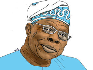 Obasanjo Congratulated By Buhari At NOUN Convocation as He Condemns The Buhari's Administration Of Failing And BeingDeceitful
