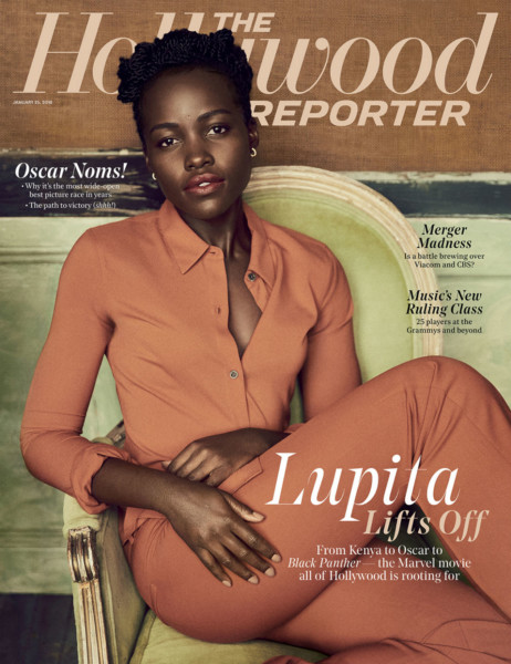 From Political Exile to Oscar to Marvel's 'Black Panther'… Lupita Nyong'o shares her Story for The Hollywood Reporter's NewIssue