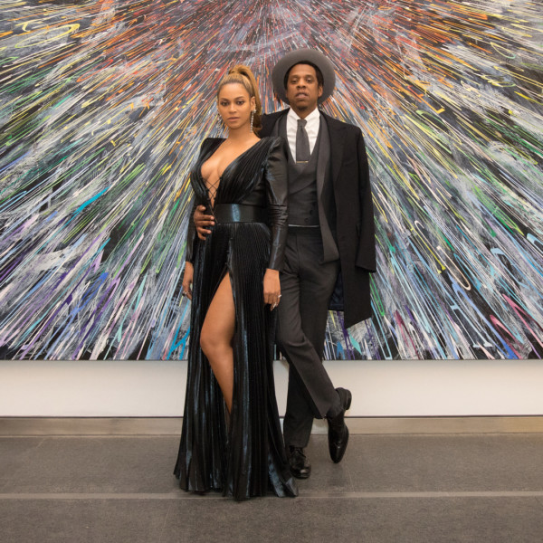 Beyoncé and JAY-Z steal the show at Roc Nation Pre-Grammy Brunch |#UberTalksMusic
