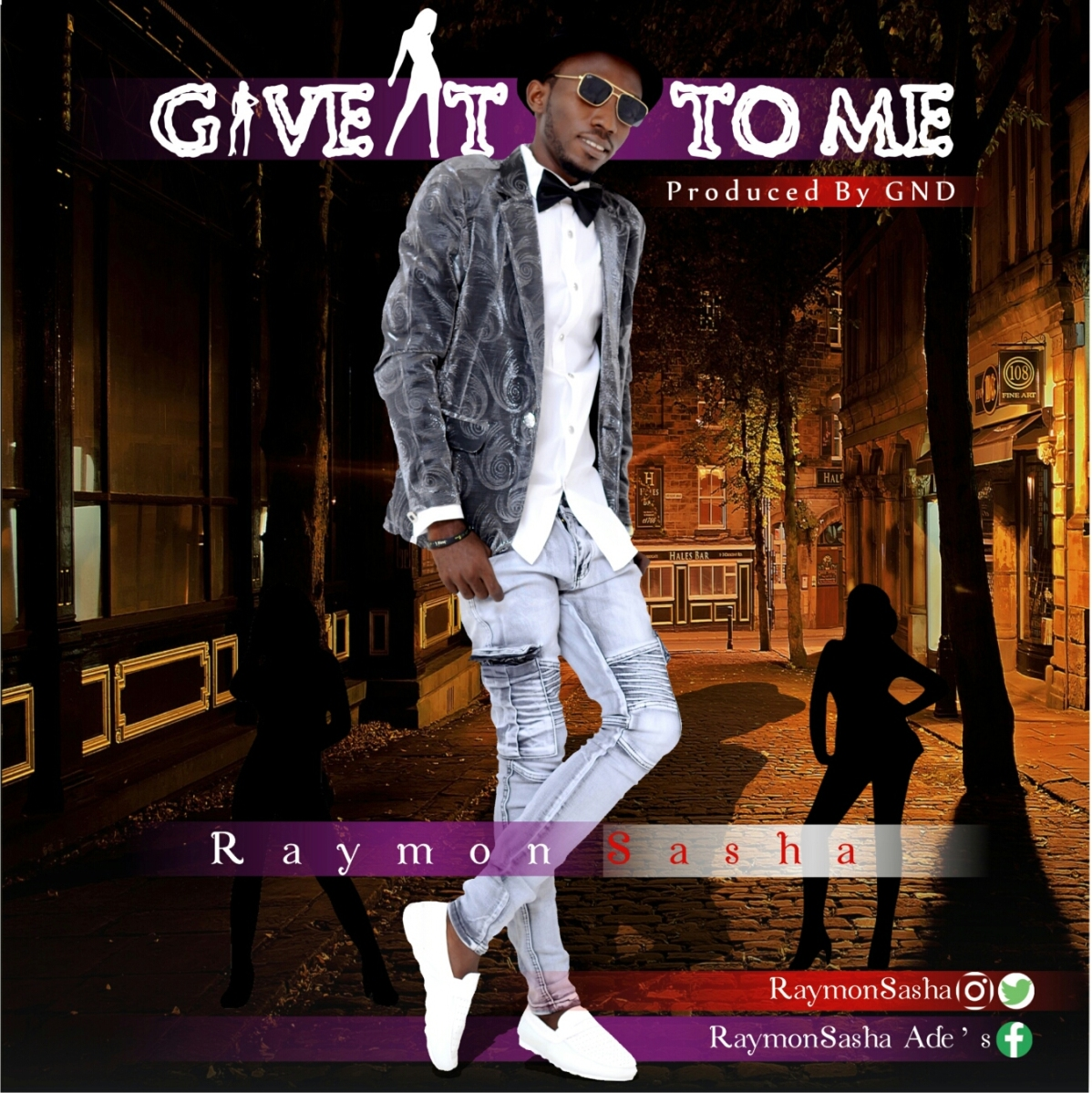 Raymon Sasha - Give It To Me |http://bit.ly/2DudD3X  | @RaymonSasha | #UberTalksMusic