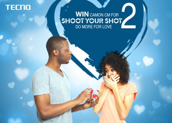 """The Aroma Of Love This Valentine Smells In The Air With Tecno """"Camon CM for 2"""" Just Win And Enjoy The LavishingTreat"""