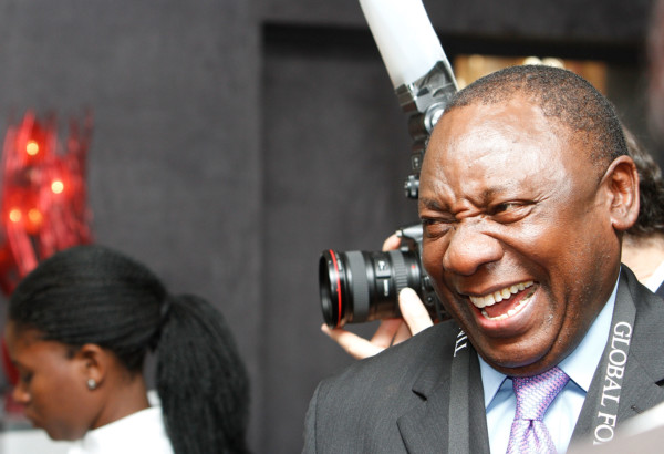 Cyril Ramaphosa elected President of SouthAfrica