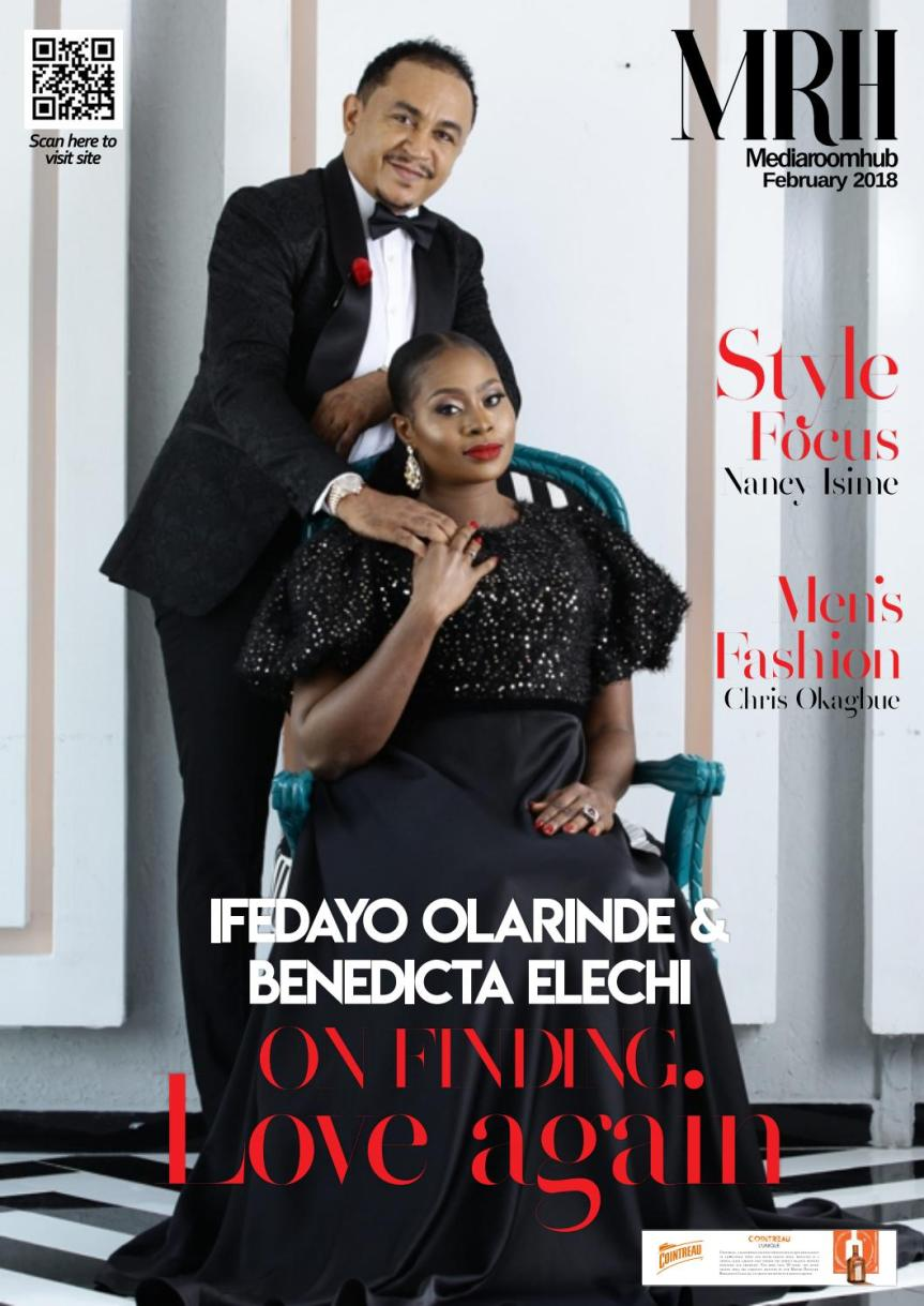 MUST READ: Daddy Freeze & Fiancé Benedicta Elechi's Love Story as they cover MediaRoomHub Magazine