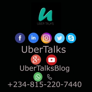 UberTalks Media: Follow Us On All Her Social Media Platforms For More Gist
