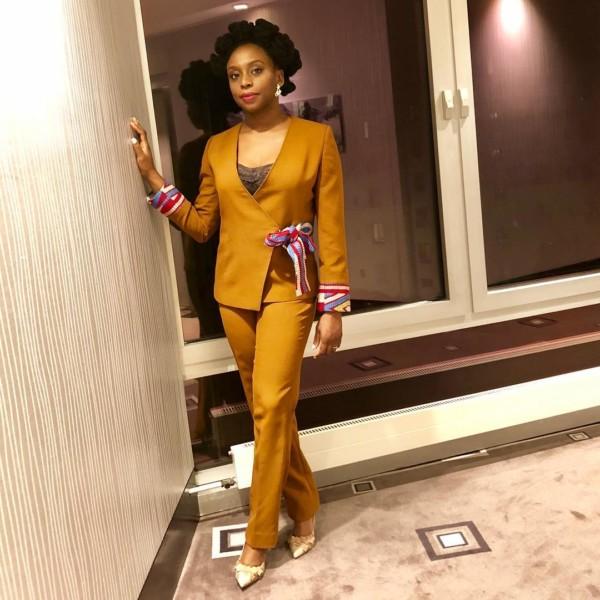 Chimamanda Ngozi Adichie takes Geneva in Style!  #TBBCStyle