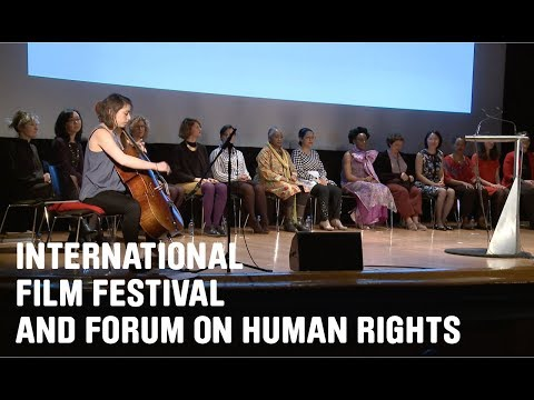 Watch the Special Reading for Chimamanda Ngozi Adichie Book at the International Film Festival & Forum For Human Rights inGeneva