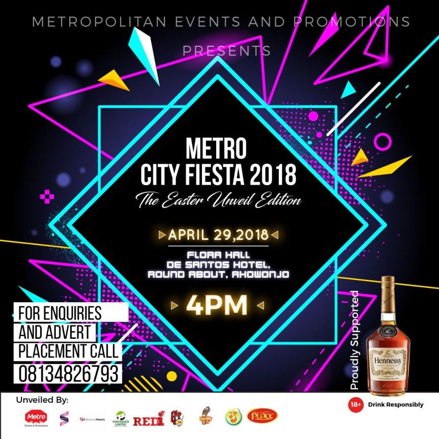 #MetroCityFiesta: Coming Soon!!! Metro City Fiesta 2018  @metro_eventz