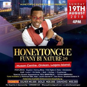 It's! #HoneyTongueFunnyByNature And It Is Set To Be Bigger And Better | cc @iamhoneytongue