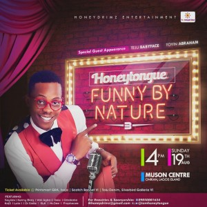 #HoneyTongueFunnyByNature 2018 | cc @iamhoneytongue